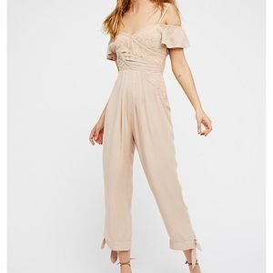 ❤️SALE❤️ Free People In the Moment Jumpsuit Ivory